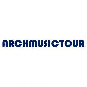 Archmusictour Logo Referenz von der KellerFabrik