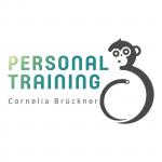 Cornelia Brückner Personal Training Logo mit Affe/Äffchen
