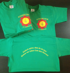 T-Shirts Kinderchor