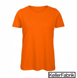 Bio Frauen T-Shirt ~ orange