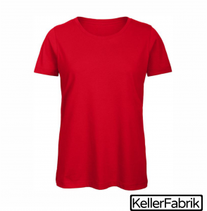 Bio Frauen T-Shirt ~ red