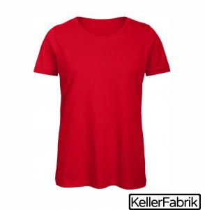 Bio Frauen T-Shirt ~ red