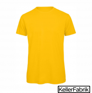 Bio Männer T-Shirt ~ gold