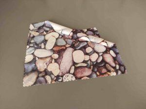 Brillenputztuch steine