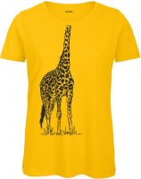 Frauen T-Shirt - Gelb