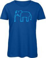 Tina - der Elefant Damen blau